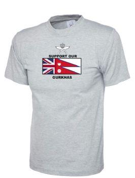 Support our Gurkhas Tshirts